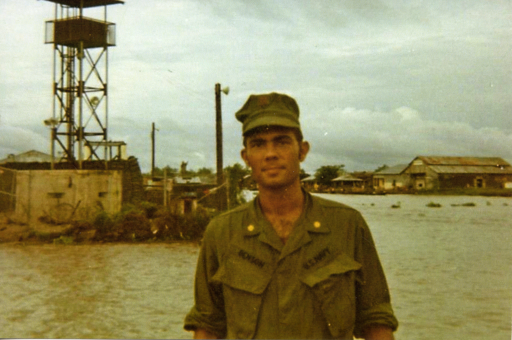 Lieutenant Commander Benson Kien An RVN September 1971