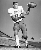 Louis Breuer Texas Tech Football Picture for GameDay Programs