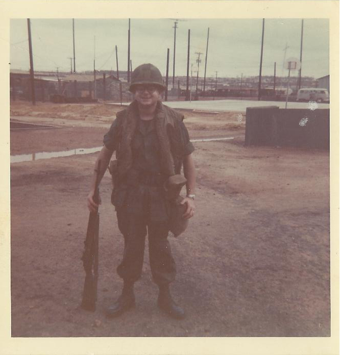 James Bussey in Vietnam