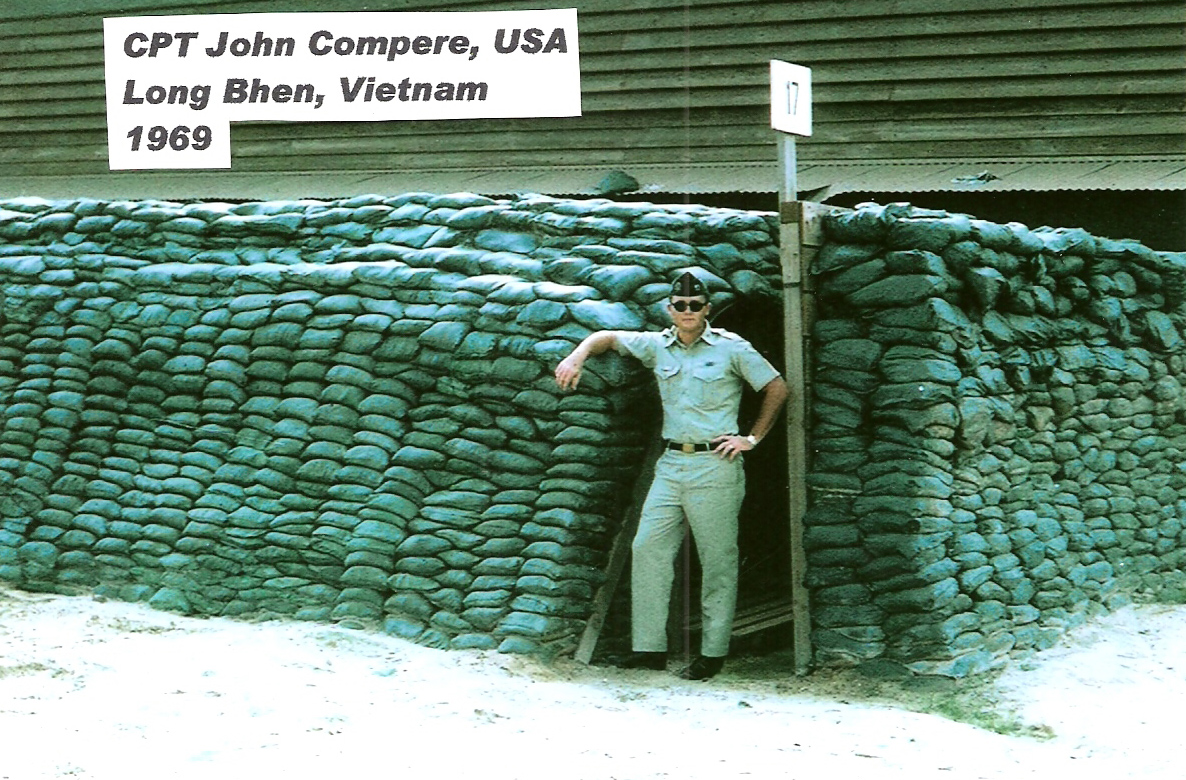 Captain John Compere Long Binh 1969