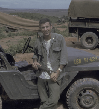 William Holmes in Vietnam