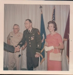 Jones being promoted and earning his Silver Star
