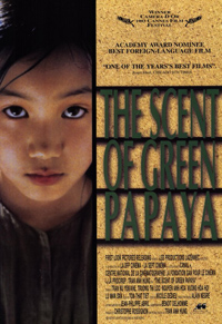 Movie Poster for the Scent of Green Papaya