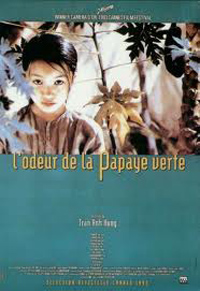 French Version of Movie Poster for the Scent of Green Papaya