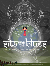 Movie poster for Sita Sings the Blues