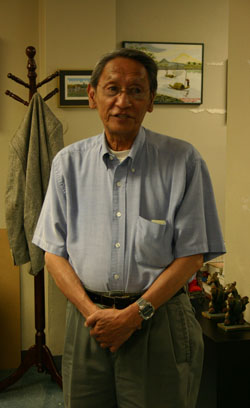 Ambassador Phong Xuan Nguyen at The Vietnam Center and Sam Johnson Vietnam Archive