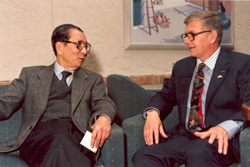 Ambassador Bui Diem and Dr. James Reckner