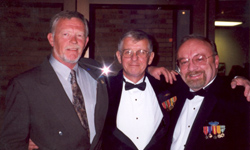 The Vietnam Center Amigos. David Shelly, vice-president; Jim Reckner, director; Phil Price, president