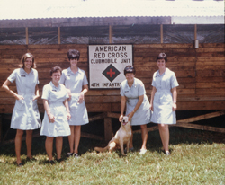 American Red Cross - Clubmobile Unit 4th Unit, 4th Division Camp Enari