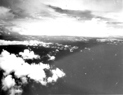 [aerial view -working at Task Force Alpha and planes on bombing runs on Ho Chi Minh Trail]: Steve Umland Collection [VA067819]