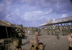 Seacoast market Go Cong Province: Edward P. Metzner Collection [VAS018664]