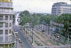 Saigon National Assembly, etc, from roof of Rex Office club.: George H. Kelling Collection [VAS061150]