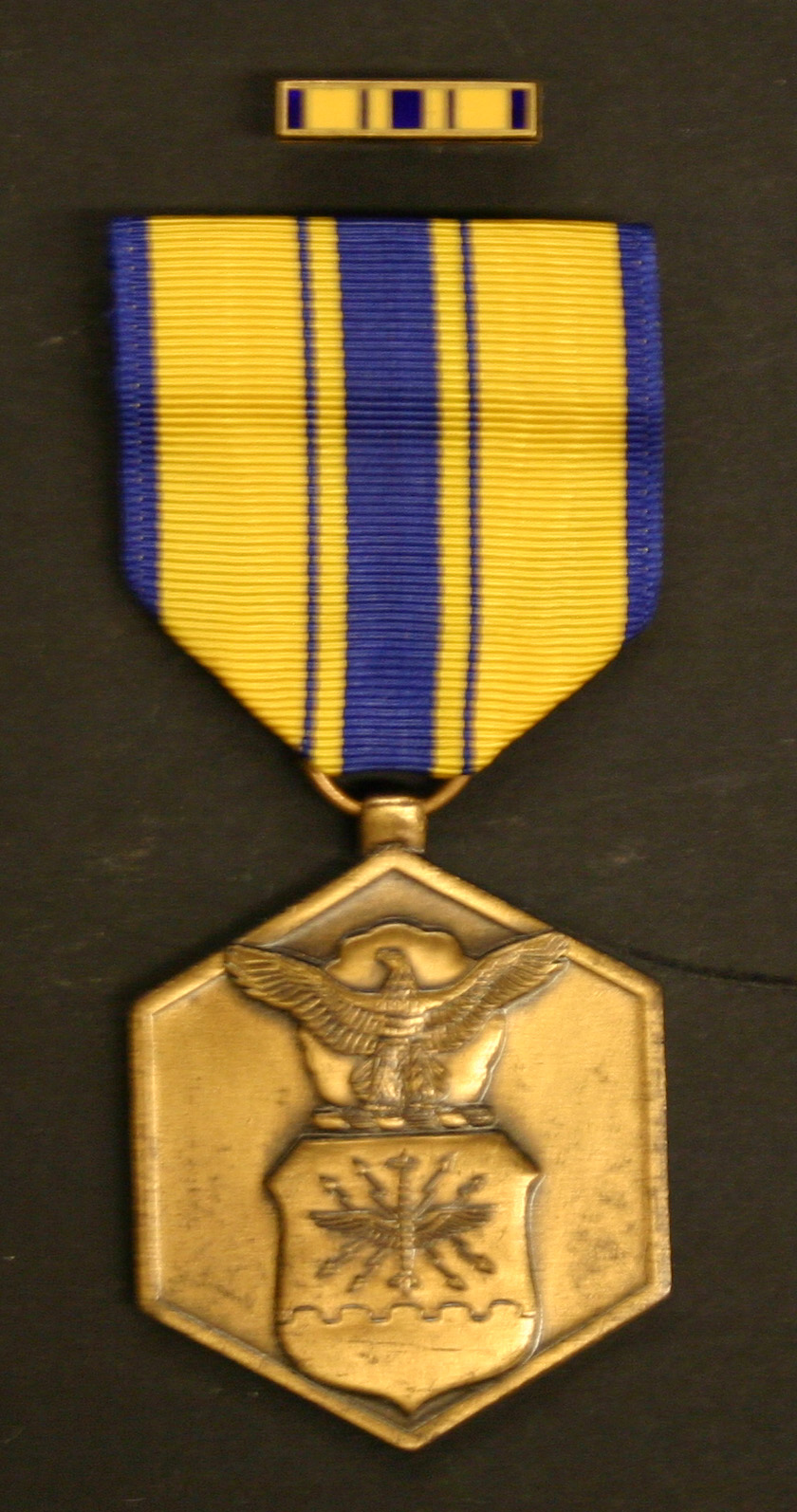 1611museum2205  U. S. Air Force Commendation Medal awarded for participation in the Mayaguez Mission  Robert A. Goode Collection (Thailand, Laos, Cambodia Brotherhood)
