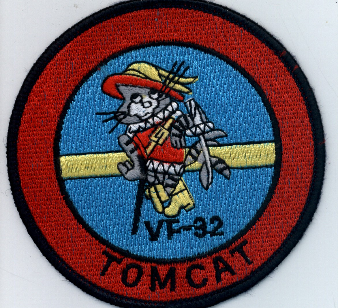 United States Navy VF-32 Tomcat Fighter Squadron patch.