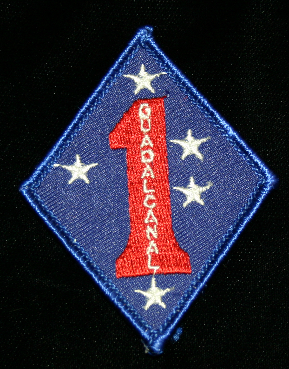 1st Marine Division patch
