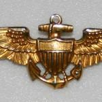 U.S. Coast Guard pilot's wings.
